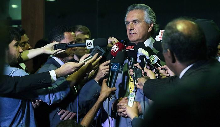 Coletiva com o senador Ronaldo Caiado - SLJ 109 v2