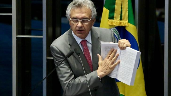 Ronaldo Caiado - Divulgação 03-10 plenário - CRÉDITO Sidney Lins JR
