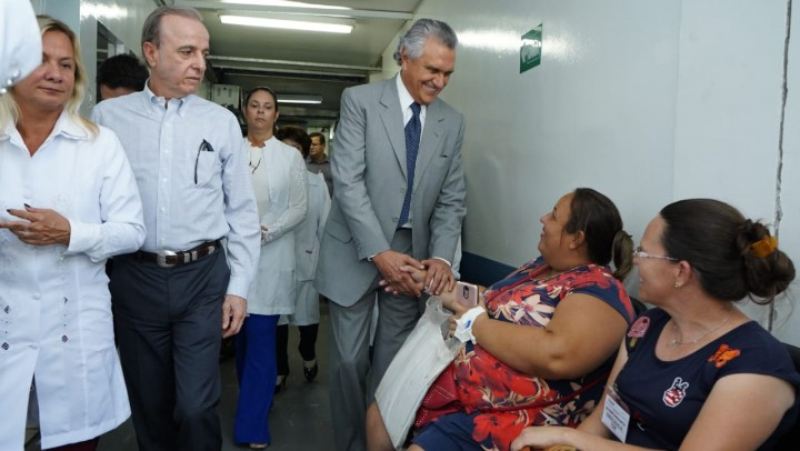 Caiado busca parcerias para promover saúde de excelência em Goiás