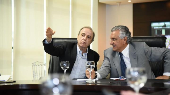Caiado e diretoria do Hospital de Barretos discutem ações para a saúde em Goiás