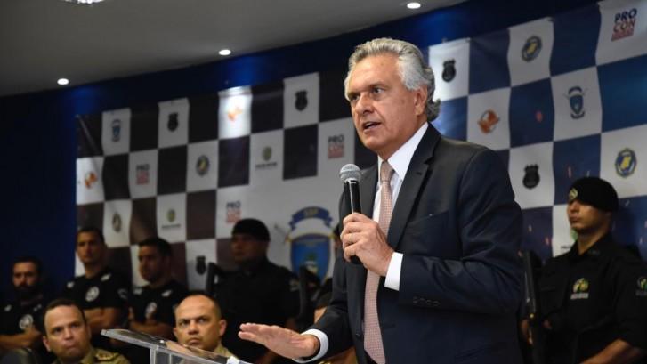 Caiado quer núcleo em Goiás com PF