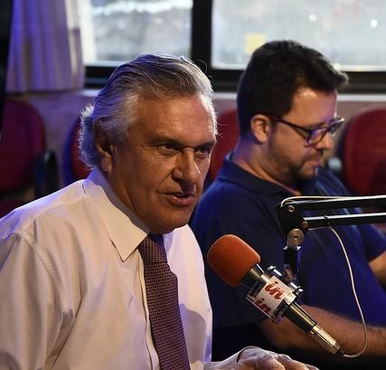 Em entrevista à Rádio Interativa, Caiado anuncia novos investimentos em Goiás