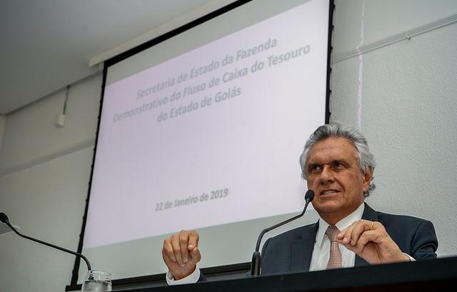 Governador vai à AL pelo decreto de calamidade e o orçamento 2019