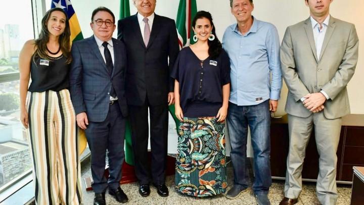 Governador Ronaldo Caiado anunciou apoio ao Conotel nesta terça, 5.