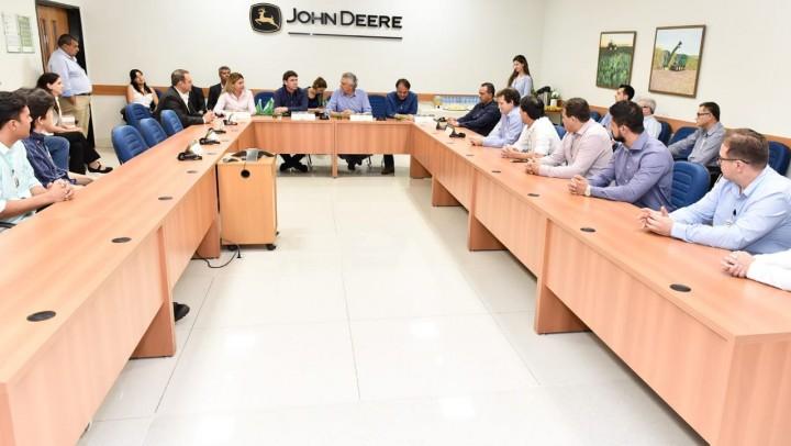 Visita do governador Ronaldo Caiado ocorreu nesta quinta, 7.