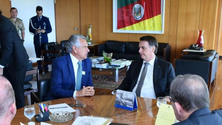 Governador se reúne com presidente 1