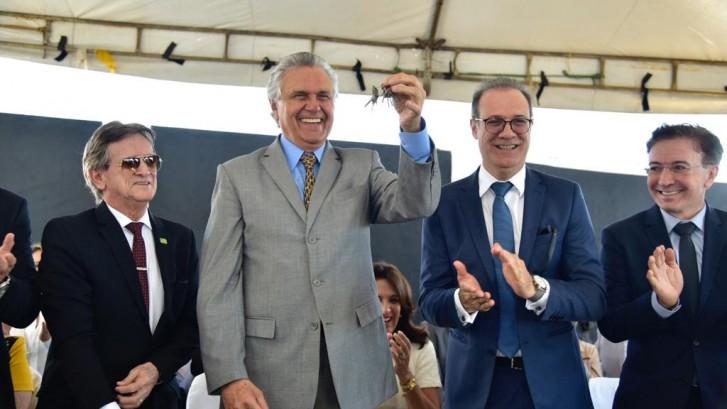 Inauguração de Presídio em Jaraguá