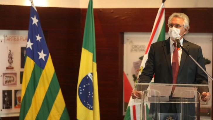 Governador Ronaldo Caiado Foto Secom Goiás