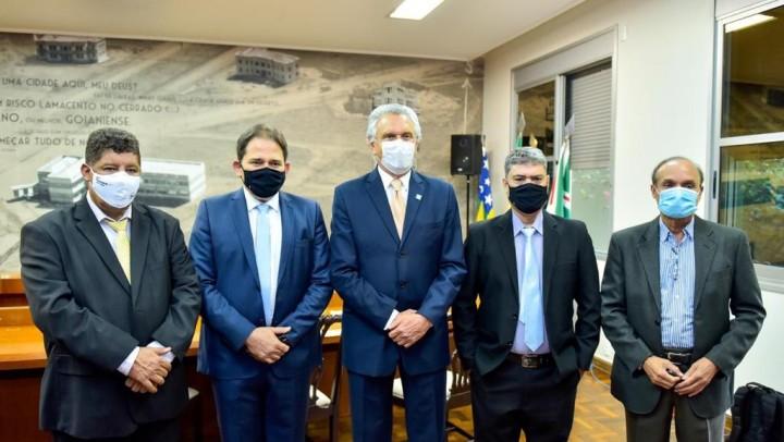 Governador sanciona lei que transforma mais de 3 mil pits dogs em patrimônio cultural imaterial de Goiás (3)